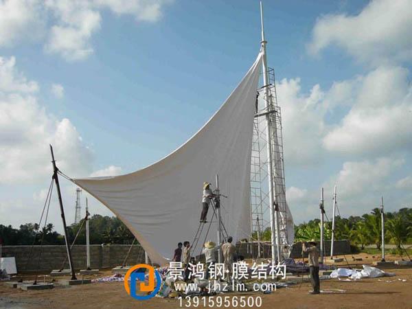 江苏 溧阳 大轩焊材有限公司 7字型车棚