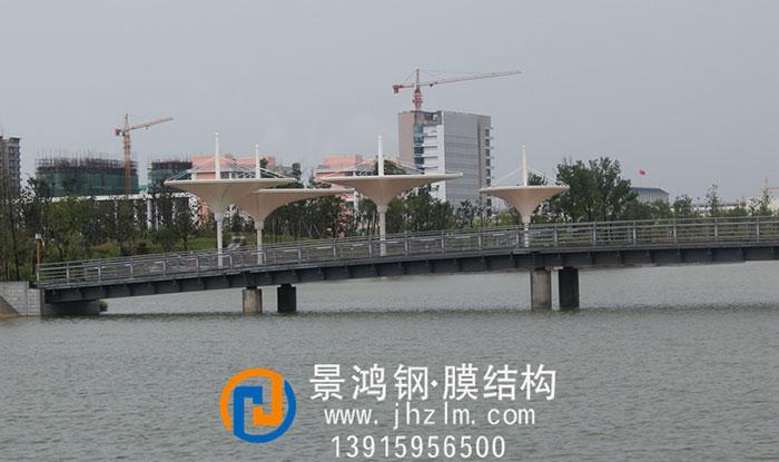 梦蝶湖公园河岸景观膜结构倒立伞工程7-2.jpg