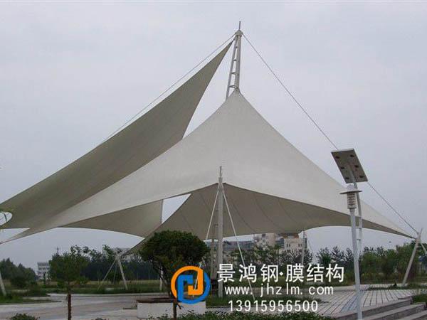 常熟海虞公园膜结构景观棚