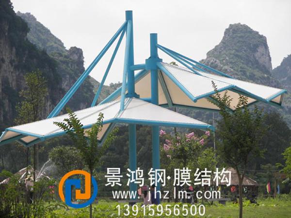 膜结构-景观伞