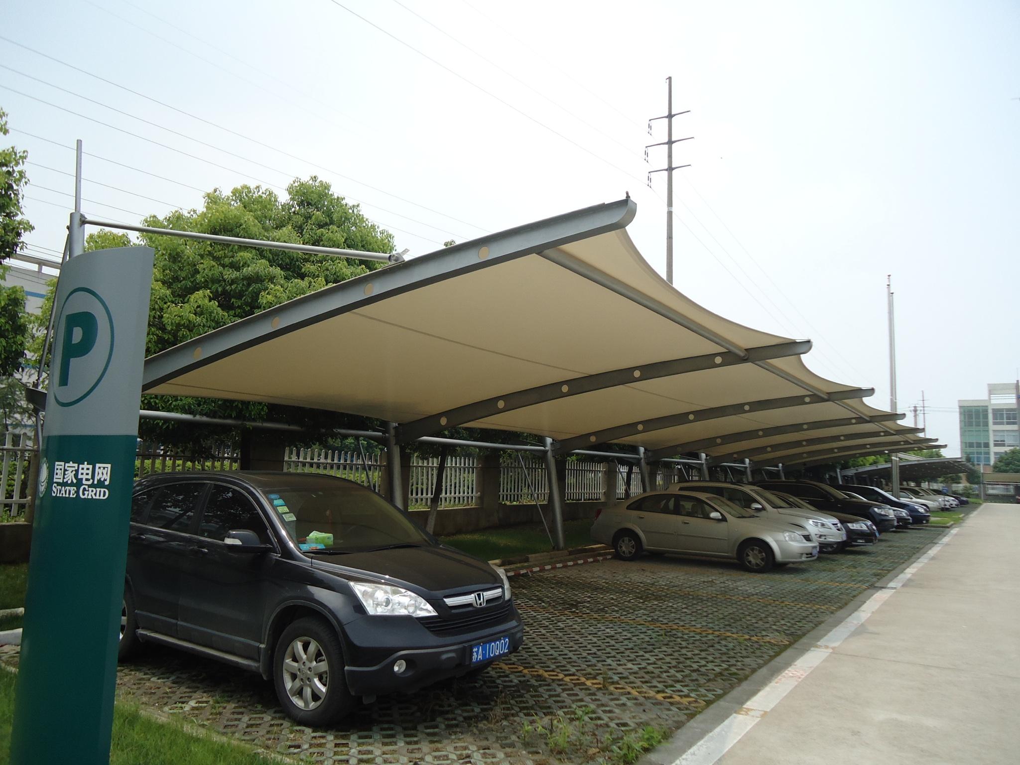 车棚 膜结构车棚 张拉膜车棚 景观车棚车棚分类 52.png