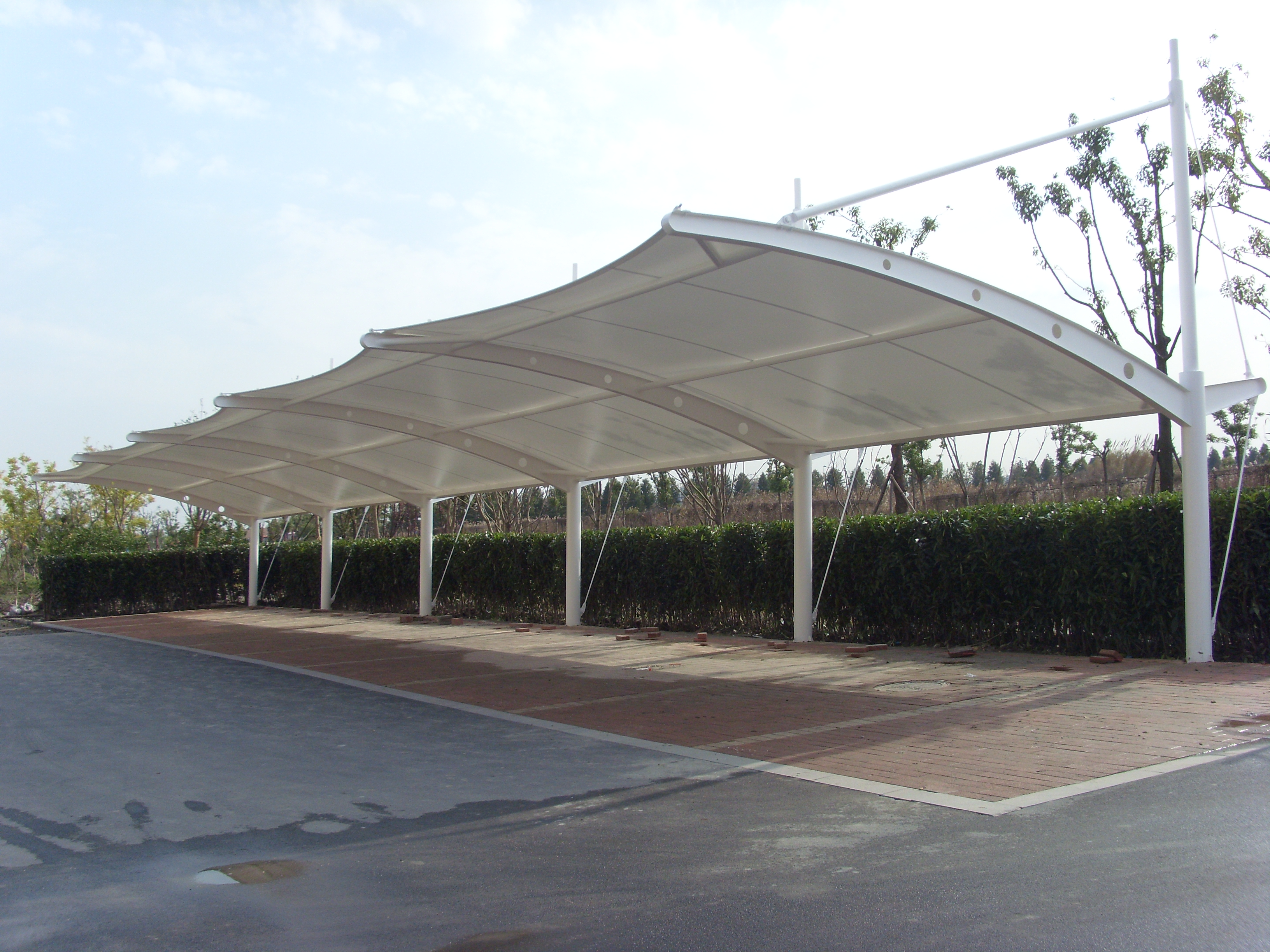 车棚 膜结构车棚 张拉膜车棚 景观车棚车棚分类 119.JPG