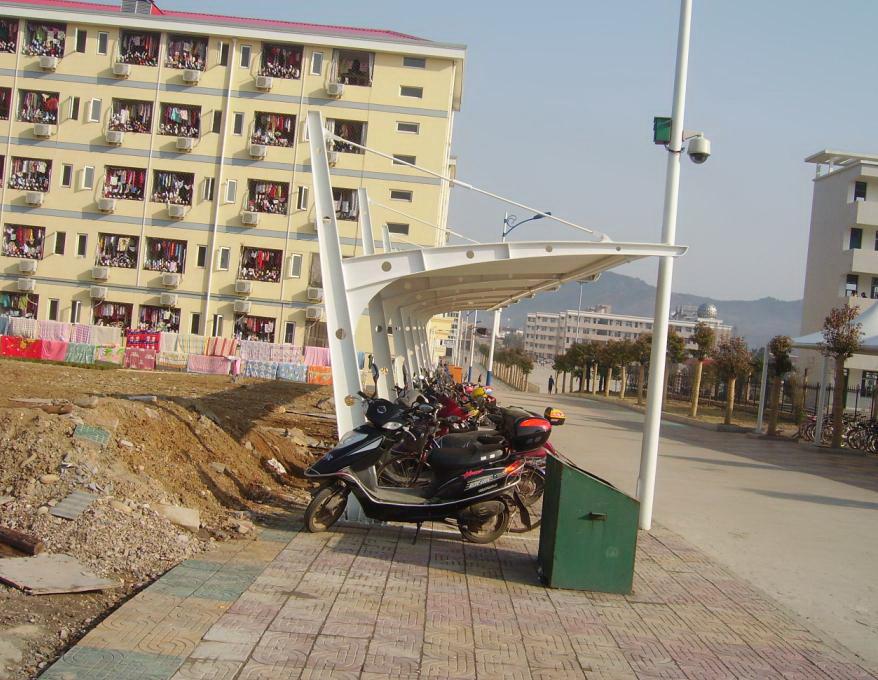 学校自行车棚 工厂自行车棚 政府自行车棚自行车棚 (9).jpg