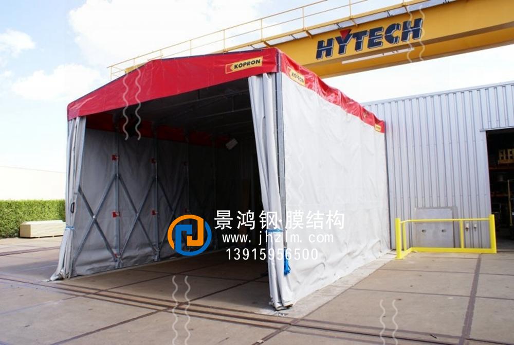 工厂仓储推拉雨篷001