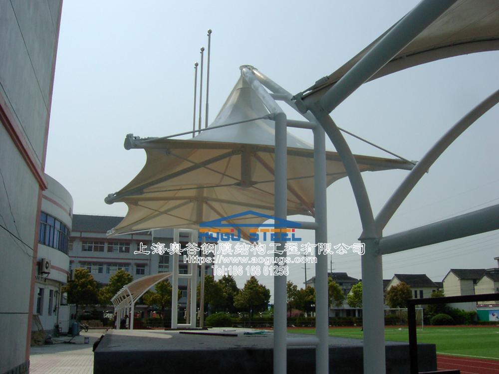 景观膜结构伞015
