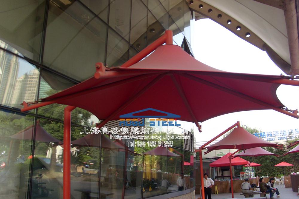 景观膜结构伞016