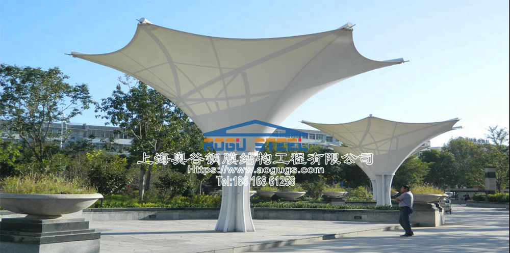 景观膜结构伞020