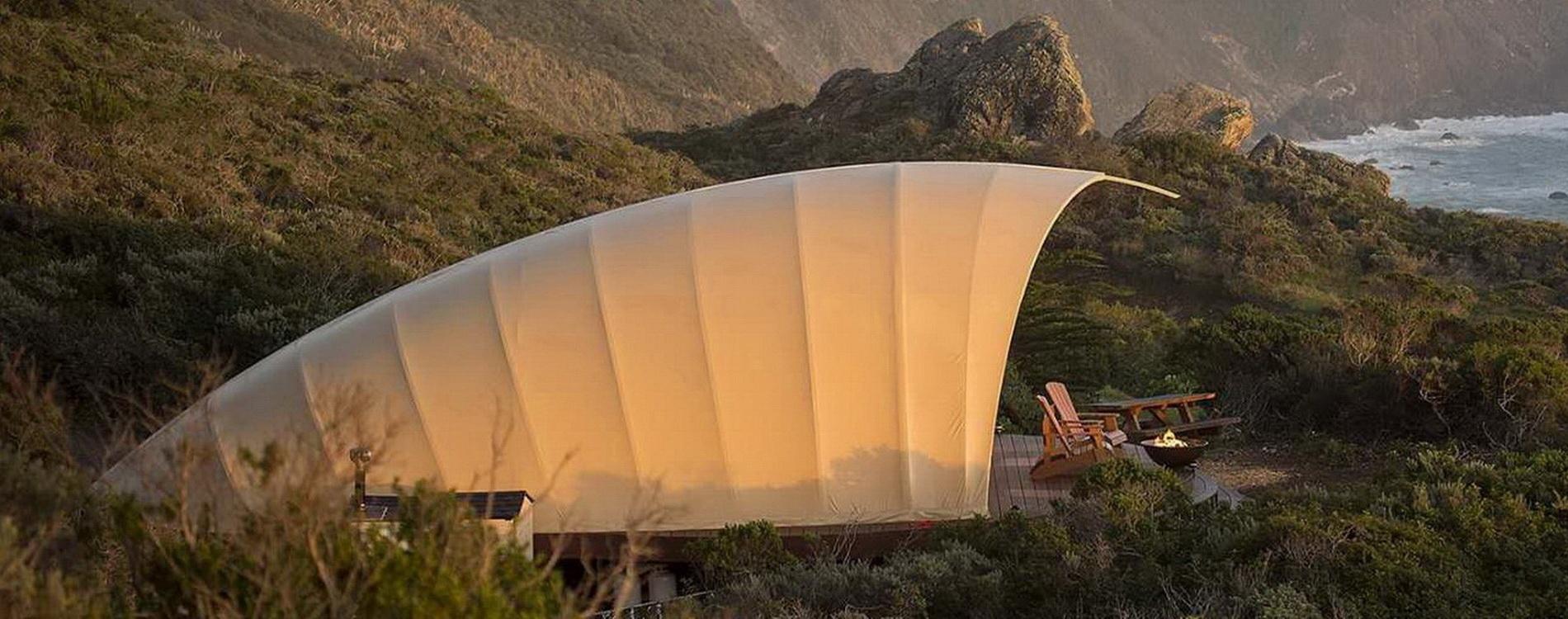 球形贝壳帐篷酒店